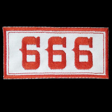 Hells Angels Support 666 écusson patch Original 81 Support