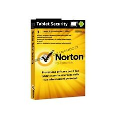 Antivirus Norton Tablet Security 2.0 IT 1 Utente - 21210402 Community Watch