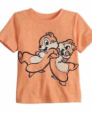 DISNEY CHIP N DALE SS TEE SHIRT SIZE 12 18 24 MONTHS NEW!