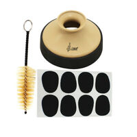 Alto Sax Accessories Kits Saxophone /Rubber Protector/Silencer Pads+Brush P3F5