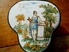 18thC French Enameled Snuff Box by Robert Gaspard of Marseille