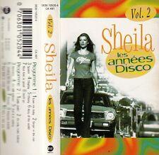 """K 7 AUDIO (TAPE)  SHEILA  """"LES ANNEES DISCO"""""""
