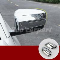 Für BMW 7 Series G11 G12 Glänzendes Silber Spiegelkappen Außenspiegel Rahmen