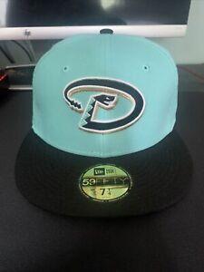 Hat Club New Era 59Fifty Arizona Diamondbacks 2001 World Series Patch Hat 7 1/4