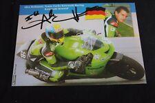 Card Kawasaki ZX-RR MotoGP 2003 #66 Alex Hofmann (GER) signed