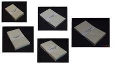 250 New Glassine Envelopes 50 Each Size #1, #2, #3, #4 & #5 Philately Supplies