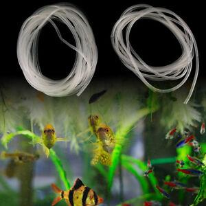 1/5/10m Clear Aquarium Silicone Tube Air Pump Oxygen Tubing For Fish Tank 4/6mRZ