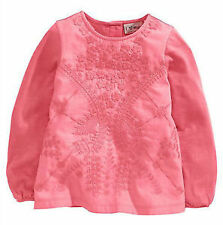 Baby Girls' Embroidered Tops 0-24 Months