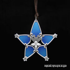 Kingdom Hearts Aqua Wayfinder Charm Amulet Necklace Cosplay Accessory Ornament