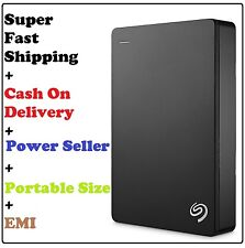 Seagate Backup Plus 4TB Portable External Hard Drive Disk HDD USB 3.0 (Black)