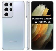 Cellulare Smartphone Samsung Galaxy S21 ULTRA 5G 12+256GB DualSim Silver SM-G998