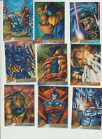 1995 FLEER/1996 X MEN MT  18 SET