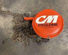 Cyclone 1 Ton Max Chain Hoist