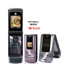"Teléfono móvil Original Desbloqueado Motorola W510 Bluetooth 1.3MP GSM Teléfono Abatible 1.9"""