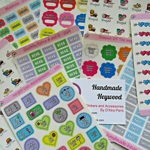 Weight Loss/Motivational Stickers - Planner Stickers - Food Diary - Glossy Paper