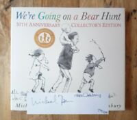 DUAL SIGNED LIMITED EDITION of WE'RE GOING ON A BEAR HUNT WITH PRINT 1ST (FIRST)