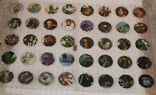 STAR WARS - VINTAGE ** WALKERS TAZO COLLECTORS CARDBOARD TAZOS ** REPLACMENTS