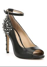 New! Gianni Bini Womens Size 6 Black Patent Leather Classic Pumps Shoes