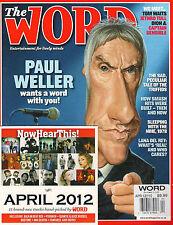 The WORD 110 April 2012 PAUL WELLER Dion Tom Waits Jethro Tull Lana Del Rey + CD