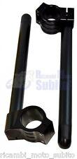 Semimanubri Ø50 in alluminio anodizzato Nero SUZUKI GSX-R 600-750-1000-1100-1300