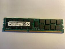 16GB RAM Micron DDR3 ECC REG SERVER 2Rx4 PC3L-12800R MT36KSF2G72PZ-1G6E1FF