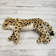 "Fao Schwarz 19"" Cheetah Leopard Large 2017 Plush"