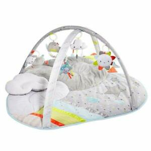 Skip Hop Grow & Play Activity Gym Baby Gear Toys Kids Activity Bed -Silver Cloud