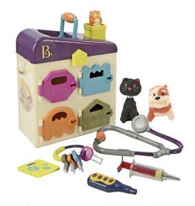 B. Toys by Battat - B. Pet Vet Toy - Doctor Kit for Kids Pretend Play NEW
