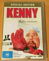 KENNY - SPECIAL EDITION - DVD 2 DISCS + CD SOUNDTRACK - SHANE JACOBSON - R4  VGC