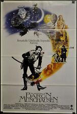 Abenteuer Von Baron Münchhausen 1988 Orig 27X41 NM Intl Film Poster John Neville