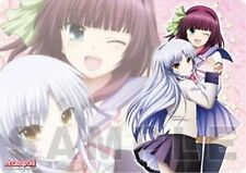 Angel Beats Yuri & Tenshi Plastic Desk Mat Anime Poster NEW
