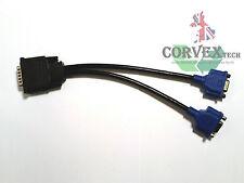 Converter Adapter DMS-59 to 2x VGA / SVGA D-Sub 15 Pins