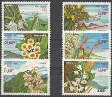 Timbres Flore Laos 481/6 ** lot 20621