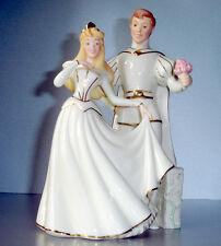 Lenox Disney Sleeping Beauty & Prince Philip 2 Figurine Set Boxed w/COA New