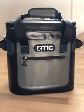 RTIC Softpak 20 Soft Cooler Gray/steel Blue