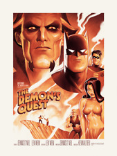 The Demon's Quest Batman BTAS PCC Poster Limited Edition Mondo Phantom City