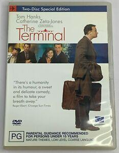 The Terminal (DVD 2005) Tom Hanks Romantic Comedy PAL Region 4 Free Postage