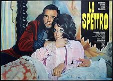 CINEMA-fotobusta LO SPETTRO barbara steele, peter baldwin, ROBERT HAMPTON