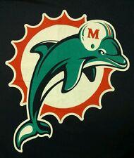Miami Dolphins Logo Pro Player Shirt Medium M National Football League NFL