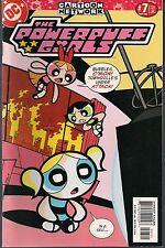 "POWERPUFF GIRLS THE COMICS #7 DC/CN 2000 TV TROUBLES ""REMOTE CONTROLLED!"" NM-"