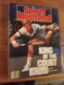 Boris Becker wins US Open - Sports Illustrated - 9/18/1989  tennis a