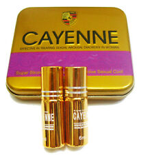 CAYENNE 6ml(2xbottle) Sex Drops Spanish Fly Gold Aprodisiac Super Strong Libido
