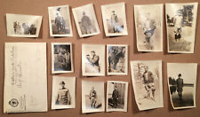 Vintage World War I Army Soldier Photographs Camp Funston Kansas
