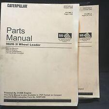 Caterpillar 962G Series II Wheel Loader Parts Manual Set AXY SEBP3596-24 Oct '05