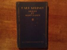 Harp Strings Swept by Many Hands #830 of 1st Ed run Hollywood Anthology of Verse