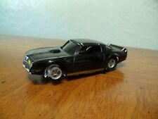 Vintage Tyco HO Scale Slot Car Firebird Black Missing 2 Tires
