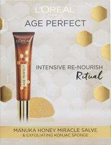 L'Oreal Age Perfect Intensive Re-nourish Ritual set BNIB