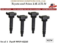 4 NEW Ignition Coils OEM DENSO for 2005-2010 Toyota Tacoma 4.0 V6