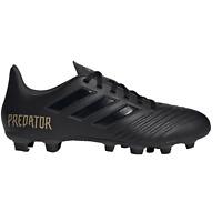 adidas Predator FXG 19.4 Core Black F35600 Mens Football Boots~SMALL FIT~B Grade
