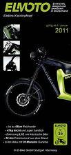 Prospekt Elmoto Elektro Kleinkraftrad 1.1.11 brochure Motorradprospekt Motorrad